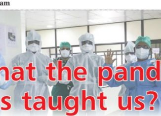 what the pandemic had taught us
