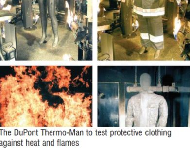 Dupont Thermo Man in action